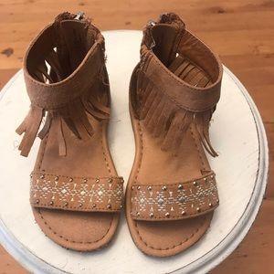 🐱 Cat & Jack Fringed Sandals